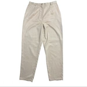 Pendleton High-Waist Khaki Pants